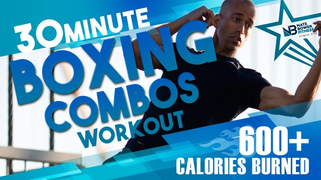 600 Calorie  Boxing Workout Low Impact High Intensity Nate Bower Elevated