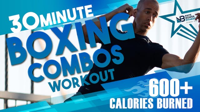 600 Calorie  Boxing Workout Low Impac...