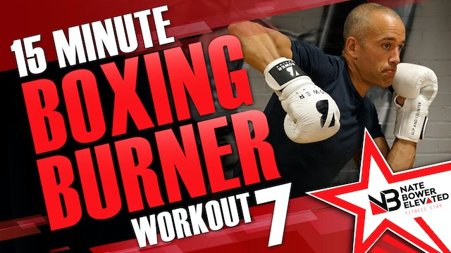 15 Minute Boxing Burners Workout 7 of 8