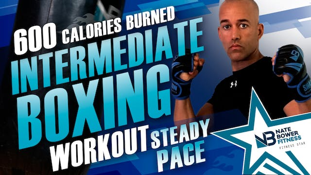 600 Calorie Steady Pace Boxing Workout