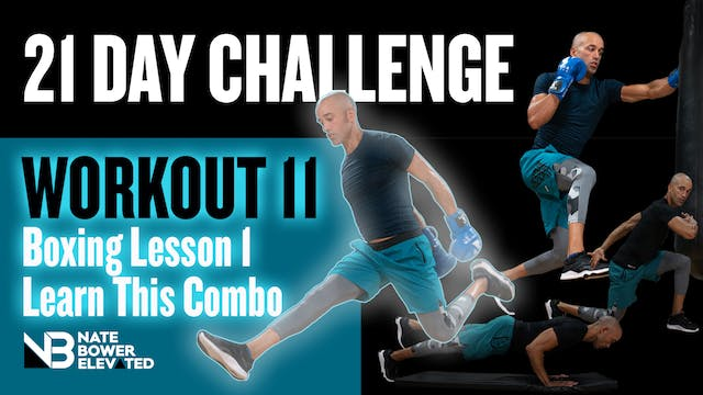 21 Day Challenge-Day 11-3 Combo Boxin...