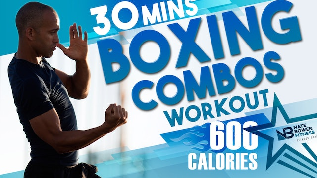 600 Calorie 30 Minute Boxing Workout | NateBowerFitness