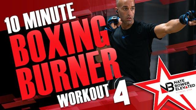 10 Minute Boxing Burner Workout 4