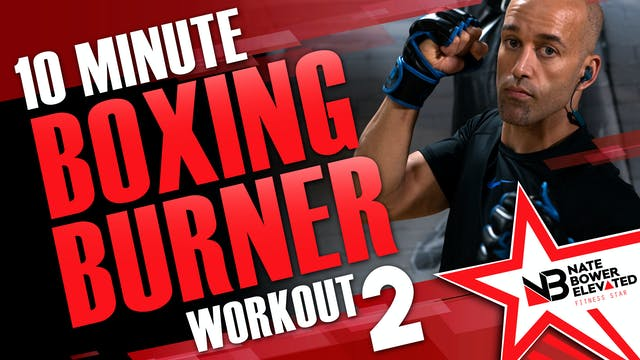10 Minute Boxing Burner Workout 2