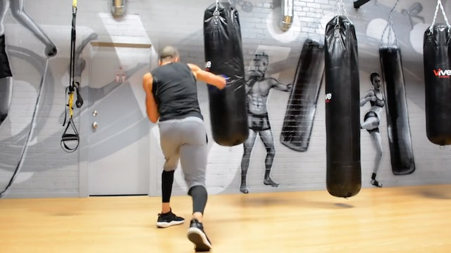 Ultimate 20 Minute Heavy Bag Workout Session 3