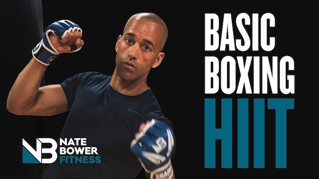 20 Minute Basic Shadow Boxing HIIT Workout
