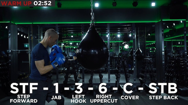 Elevated Beginner Heavy Bag Session 2