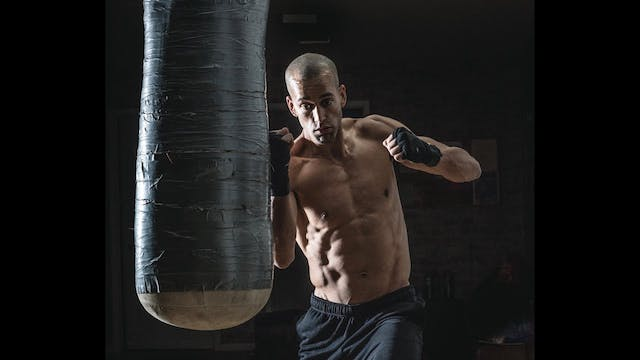 30 Minute Heavy Bag HIIT Workout 4