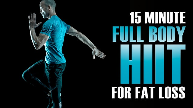 15 Minute HIIT Workout at Home NO Equipment