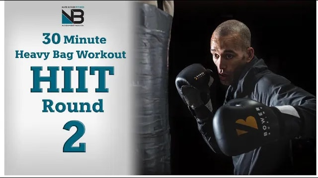 30 Minute Heavy Bag HIIT Workout 2