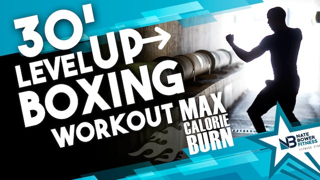 Level Up Shadow Boxing Workout HIIT a...