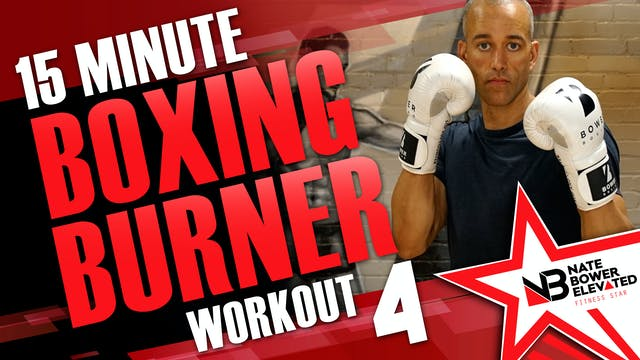 15 Minute Boxing Burners Workout 4 of 8