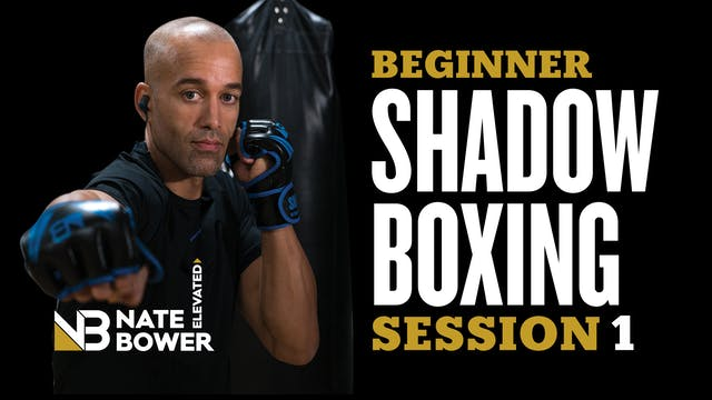 Beginner Shadow Boxing Session 1