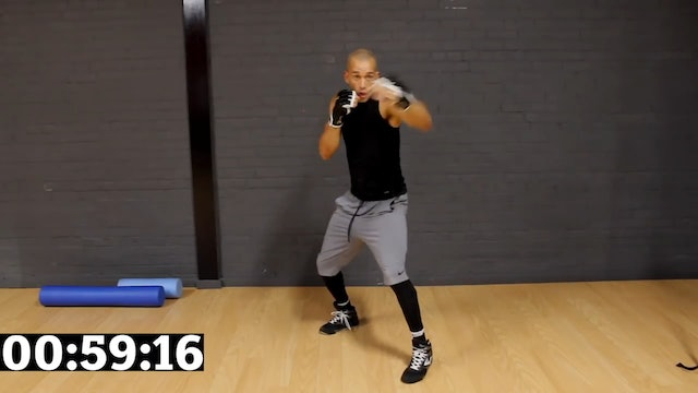 20 Minute Shadow Boxing HIIT Workout