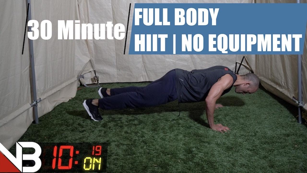 YouTube Ad free Full Body HIITT | No equipment
