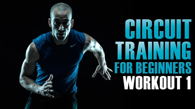 Circuit training for beginners at hom...