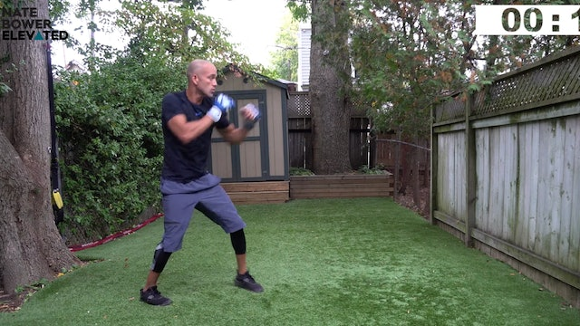 Elevated-6-50 Minute Shadow Boxing Workout Choose your Workout length