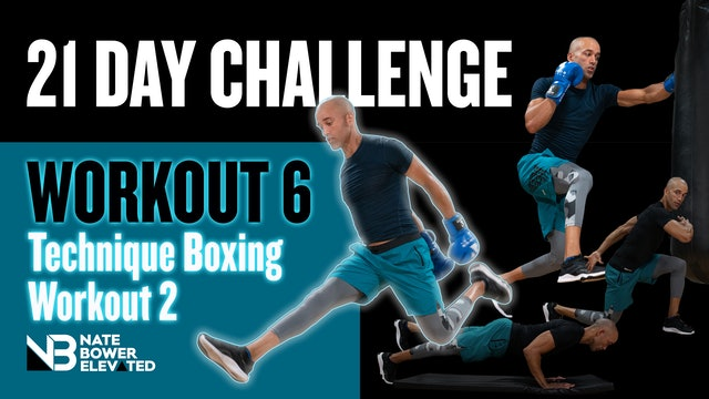 21 Day Fitness Challenge Day 6-Sweat The Technique 2