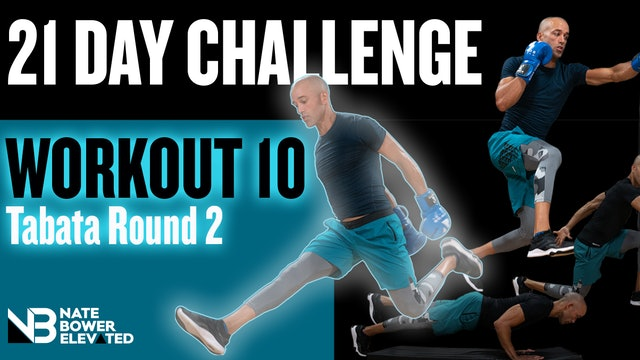 21 Day Challenge-Day 10-Tabata