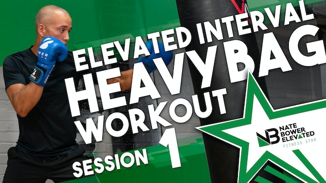 Elevated Interval Heavy Bag Workout 1