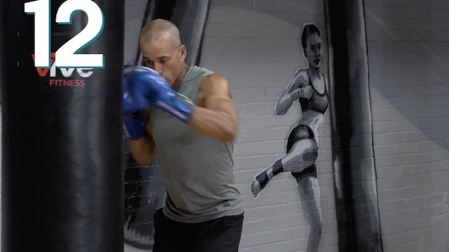 40 MINUTE :: Level Up :: BOXING Heavy Bag ::Workout 3