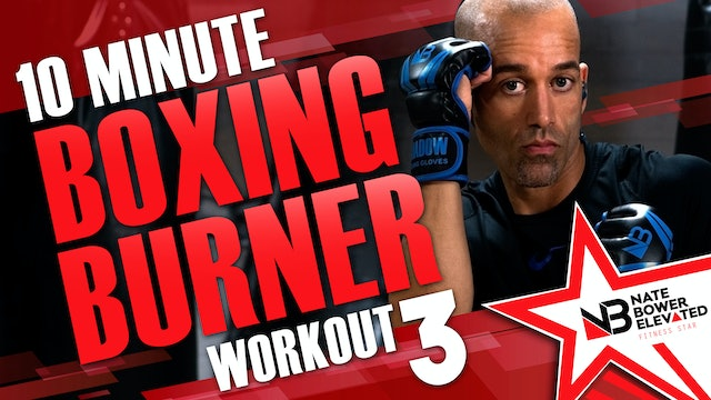 10 Minute Boxing Burners Workout 3