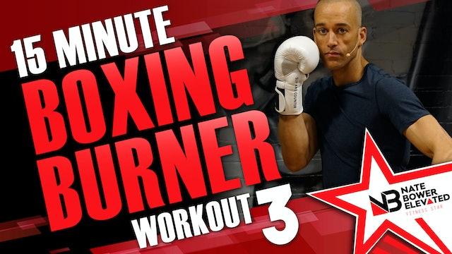 15 Minute Boxing Burner Workout 3 of 8