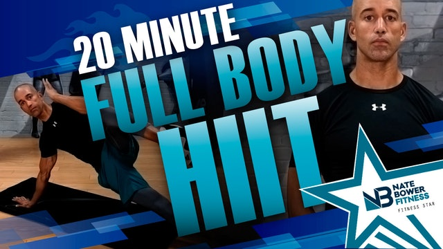 20 Minute Full Body HIIT - Elevated
