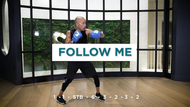 Challenge #1 - Boxing Combos and Footwork