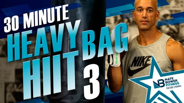 30 Minute Heavy Bag HIIT Workout 3
