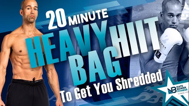 20 Minute Heavy Bag HIIT Workout to get you shredded | All Boxing