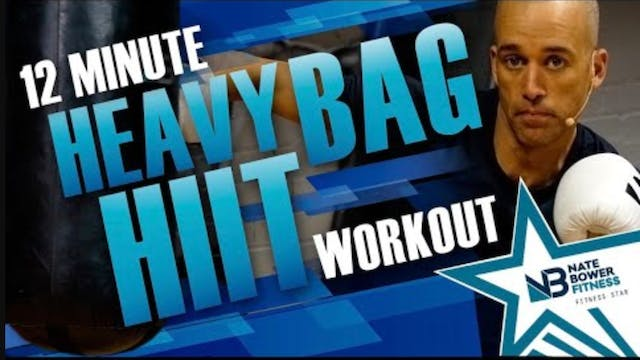 12 Minute  Heavy BAG HIIT | All Boxing