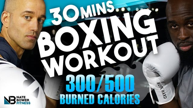 30 MINUTE 300-500 CALORIES BURNED BAS...