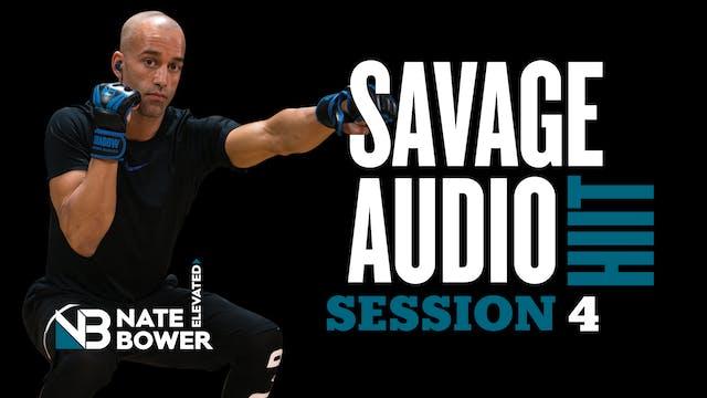 Savage HIIT 4 Exercises