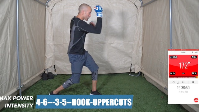 30 Minute Mixed Intensity Boxing Workout | Boxers Zone 2