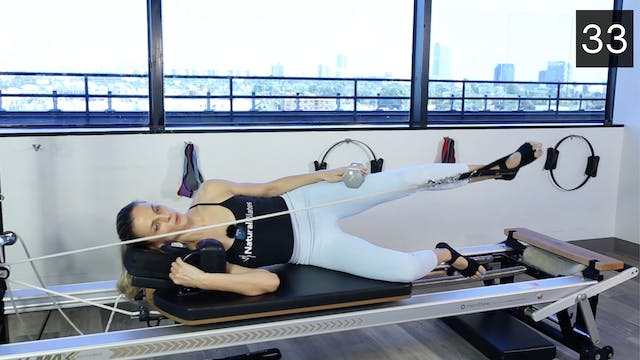 REFORMER - SCULPT PILATES WORKOUT