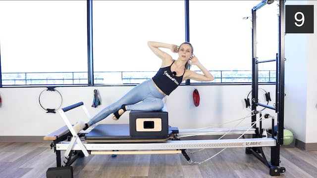 REFORMER  - OPEN TO ALL LEVELS WORKOUT