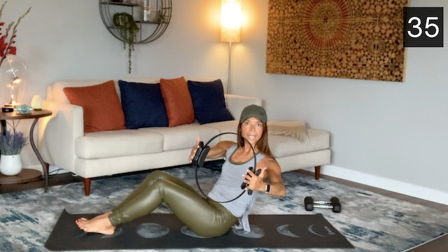 MAT - FITNESS CIRCLE WORKOUT WITH CAMILA GOODIES