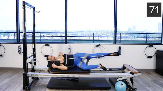REFORMER - INTERMEDIATE/ADVANCED WORKOUT