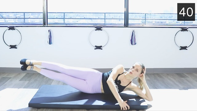 MAT PILATES WORKOUT - ABS
