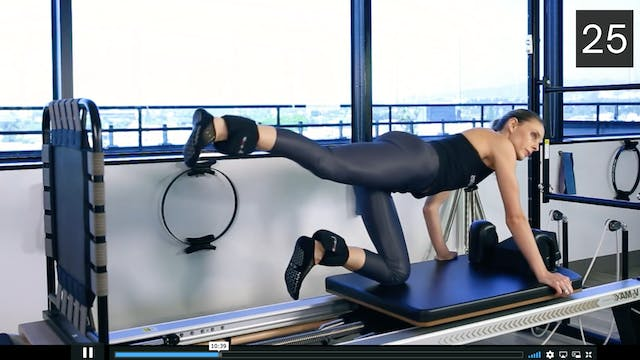 REFORMER WORKOUT- CARDIO JUMP MIX