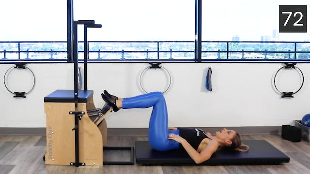 STABILITY CHAIR - INTERMEDIATE WORKOUT