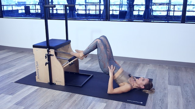 STABILITY CHAIR WORKOUT - INTERMEDIATE LEVEL