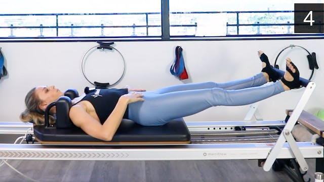 REFORMER - BEGINNER/INTERMEDIATE WORKOUT