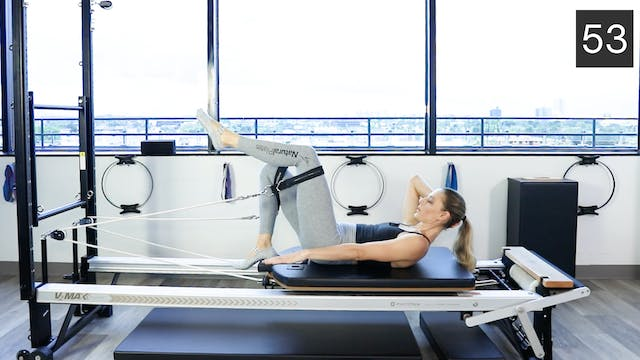 REFORMER - ABS AND ARMS  WORKOUT