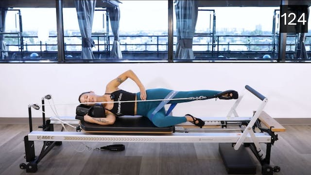 REFORMER - GLUTES AND ABS