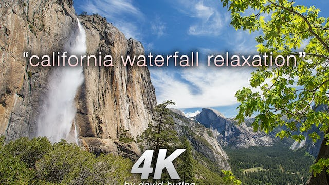 California Waterfall Relaxation Just Nature Sounds