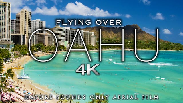 Flying Over Oahu (Just Nature Sounds)...