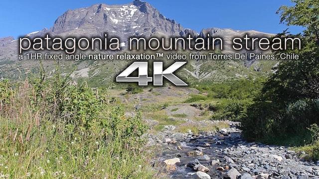 Patagonian Mountain Stream 1 HR Natur...