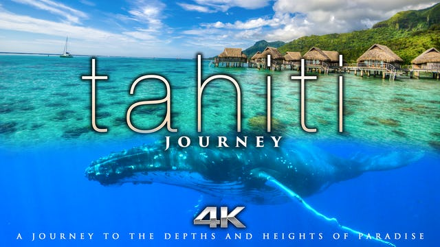 TAHITI Journey 1 HR Dynamic Nature Relaxation with Music